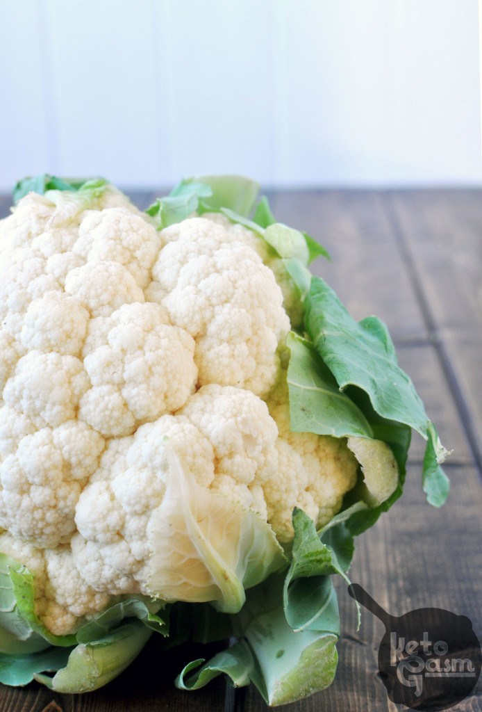 low carb keto cauliflower