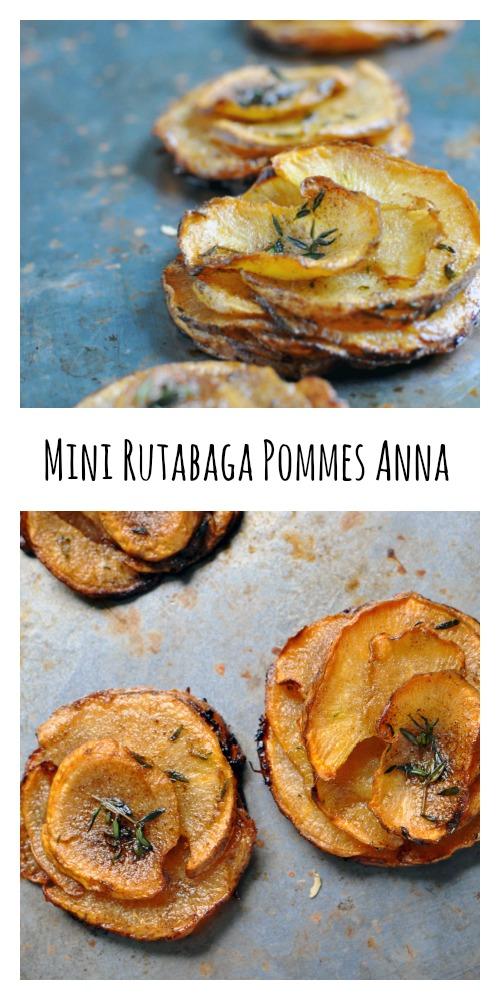 Mini Rutabaga Pommes Anna [Recipe] - Low Carb