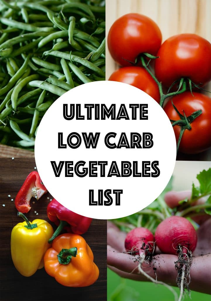 Complete List of Low Carb Vegetables - Searchable & Sortable! | KETOGASM.com #lowcarb #vegetables #keto #whole30 #paleo #lowcalorie #lchf #vegetarian #vegan #ketogenic #LCHF