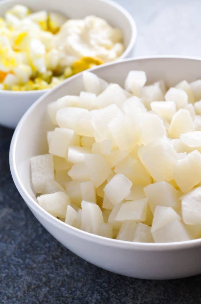 Can I use turnips in place of potatoes? Is there a low carb potato?
