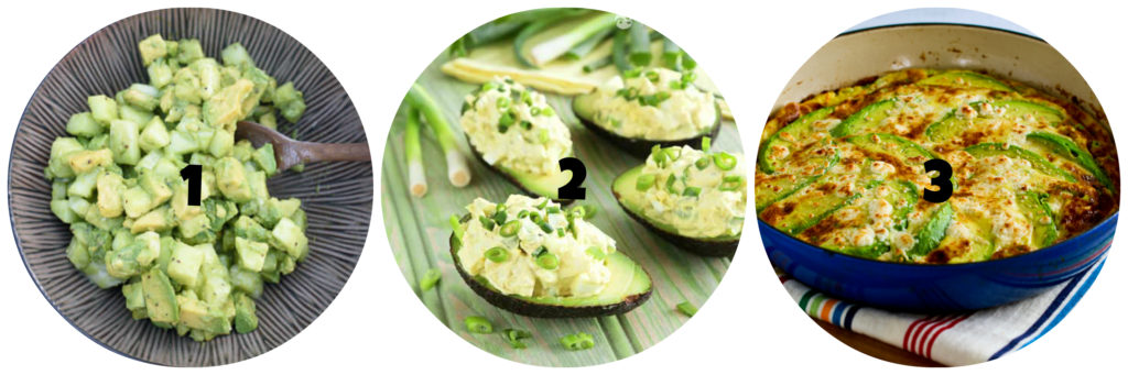 Keto Avocado Recipe Roundup