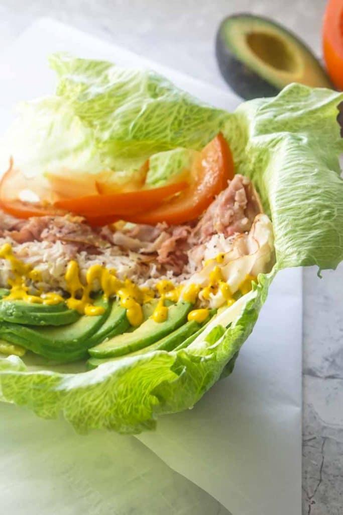 Homemade Unwich | Lettuce Wrap | Low Carb Sandwich | Keto Recipes