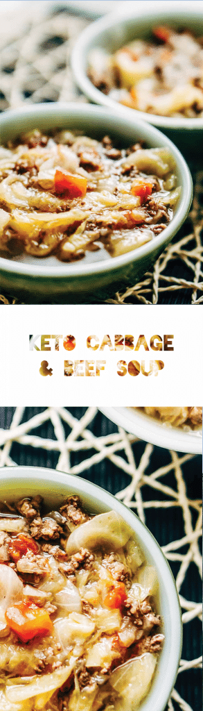 Cabbage and Beef Soup Recipe - Low Carb & Keto