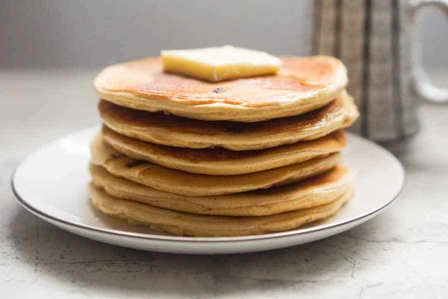 Low Carb Protein Pancakes - Peanut Butter Chocolate Chip ...