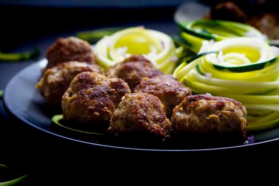 Keto Meatball Recipe With Ground Turkey Garlic Amp Ginger Ketogasm