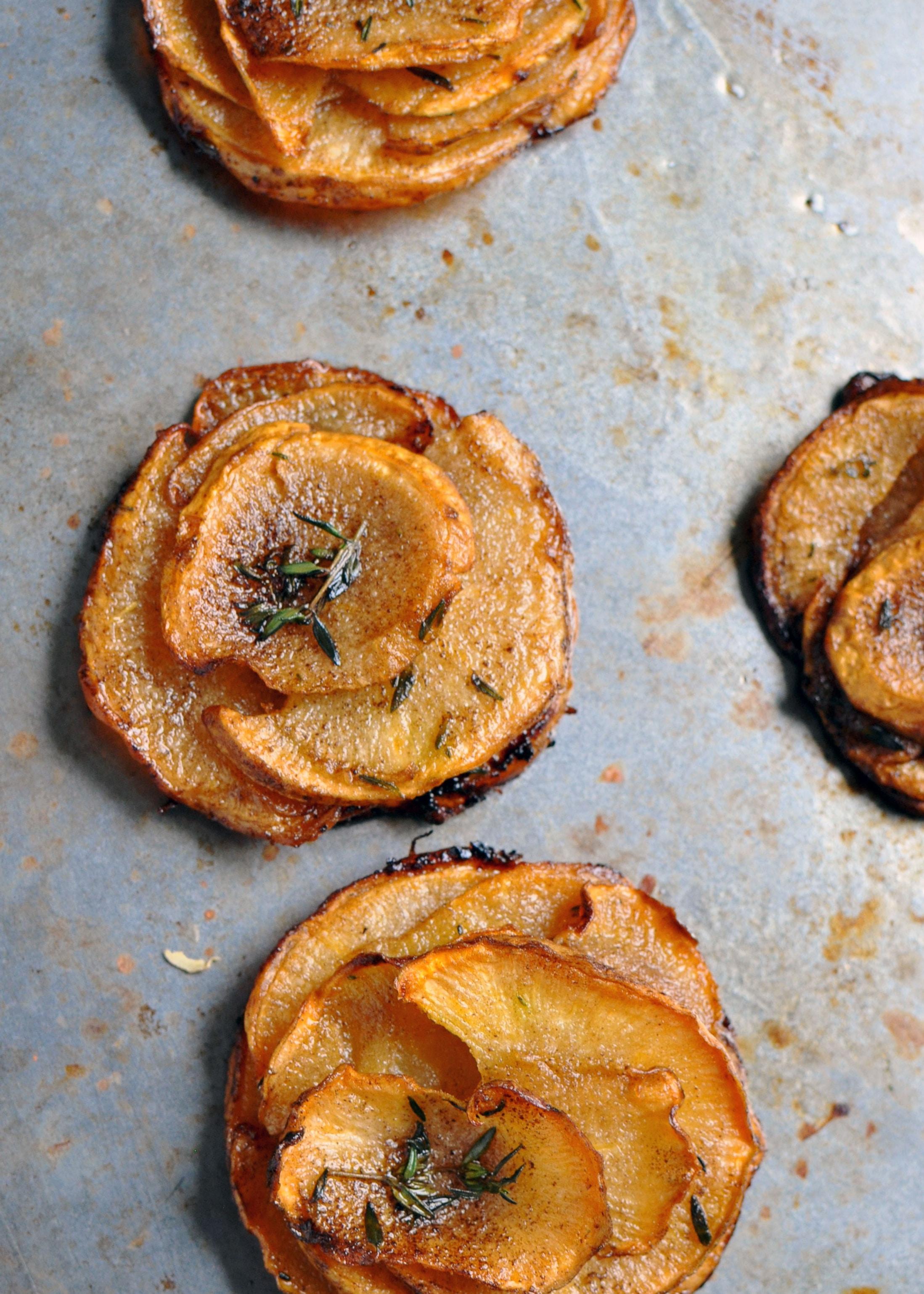 Rutabaga Pommes Anna [Recipe]