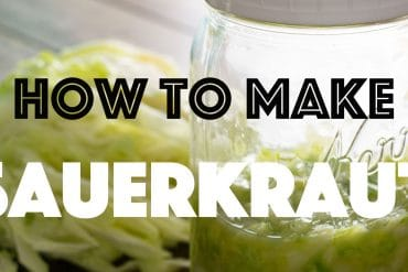 How to Make Sauerkraut   KETOGASM.com Only 2-ingredients needed: Cabbage & Salt! #lowcarb #keto #ketogenic #lchf #paleo #whole30 #cabbage #recipes #fermentation #gapsdiet #healthy #probiotic #video