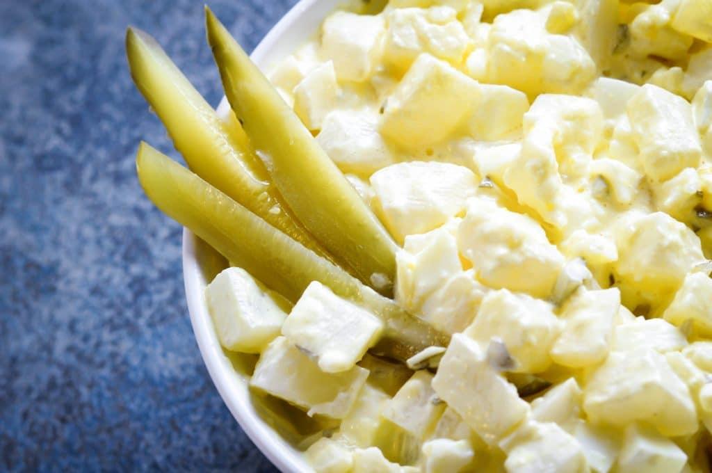 Keto Potato Salad Recipe with Turnips - Keto Friendly Low Carb Potato Salad