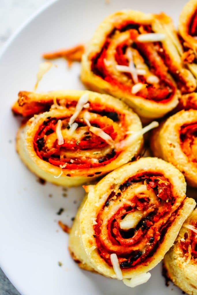 Fathead Pizza Rolls Recipe Low Carb Gluten Free Ketogasm