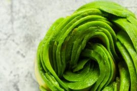 Avocado Rose Tutorial: Step by step guide and video how to make avocado flower