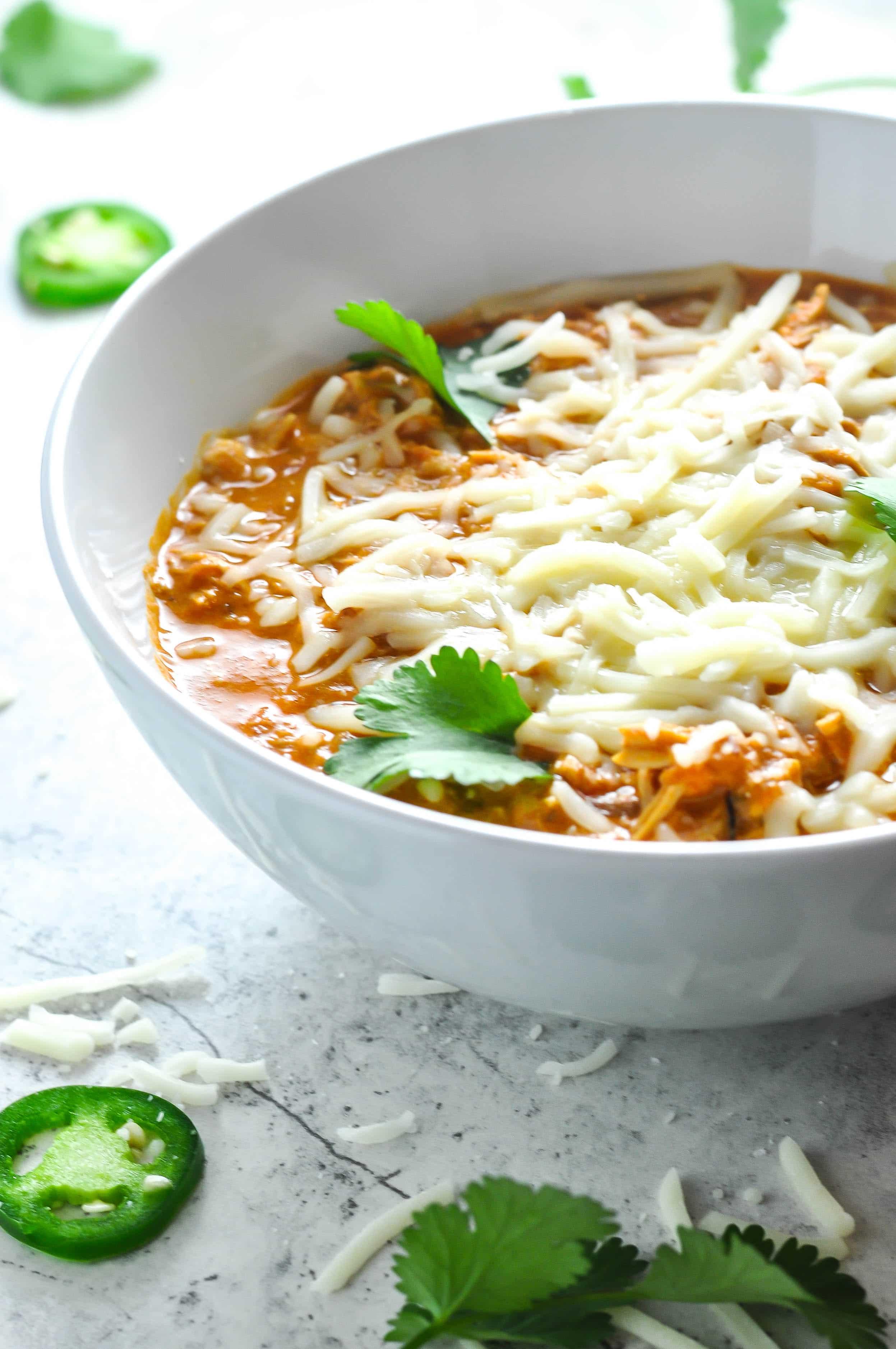 White Chicken Chili Crockpot Recipes Healthy
