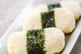 Spam Musubi with Cauliflower Sticky Rice [Recipe] #keto #ketodiet #sushi
