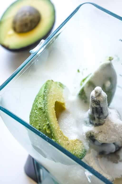 Avocado Popsicle Coconut Milk & Lime Recipe