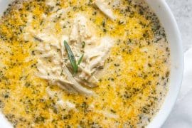 Creamy Garlic Chicken Soup [Recipe]