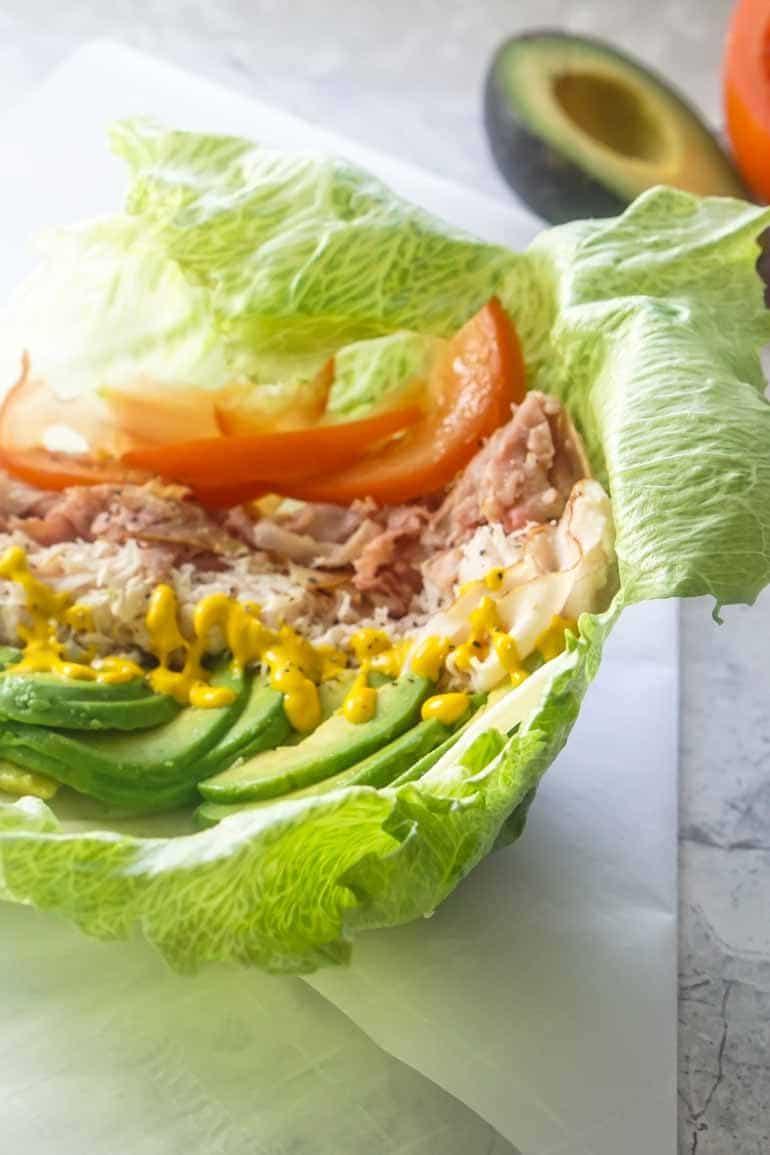 Unwich Lettuce Wrap Sandwich [Recipe]