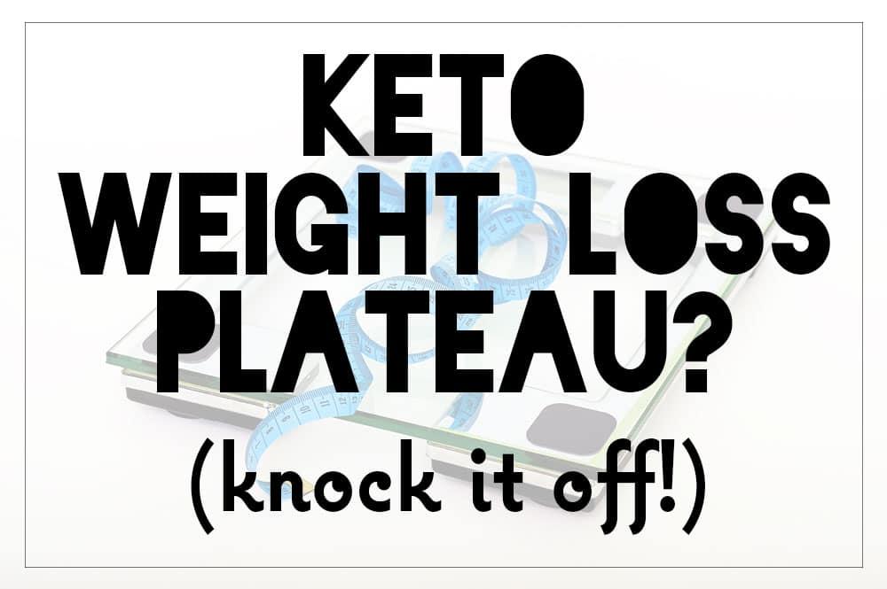 4th week of diet plateau