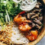 Low Carb Vietnamese Noodle Bowl Salad