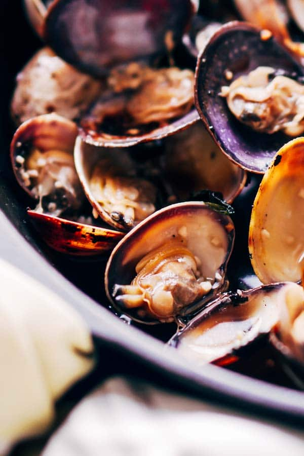 Keto Shellfish Recipes - Steamed Clams on Keto Diet