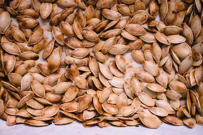 carbohydrates in pumpkin seeds