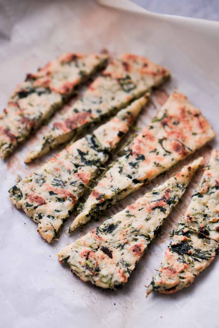 Gluten-Free Low Carb Flatbread Recipe - Keto Friendly!