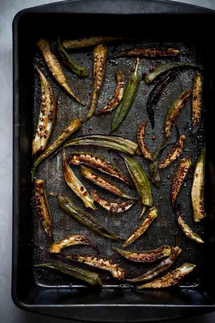 Okra Fries Recipe - Low Carb, Keto, Gluten Free