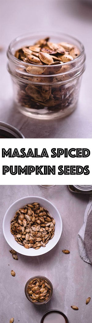 Garam Masala Pumpkin Seeds - Spicy, Roasted, Low Carb Snack