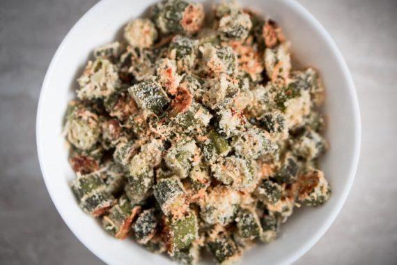 Oven Fried Okra Recipe - Low Carb, Gluten-Free, Keto Friendly