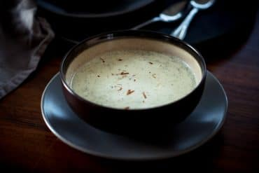 Broccoli & Goat Cheese Soup Recipe