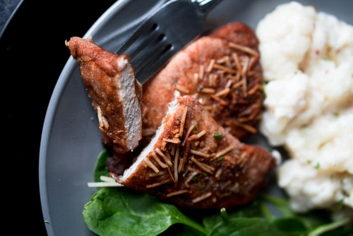 Keto Breadcrumbs Pork Recipe