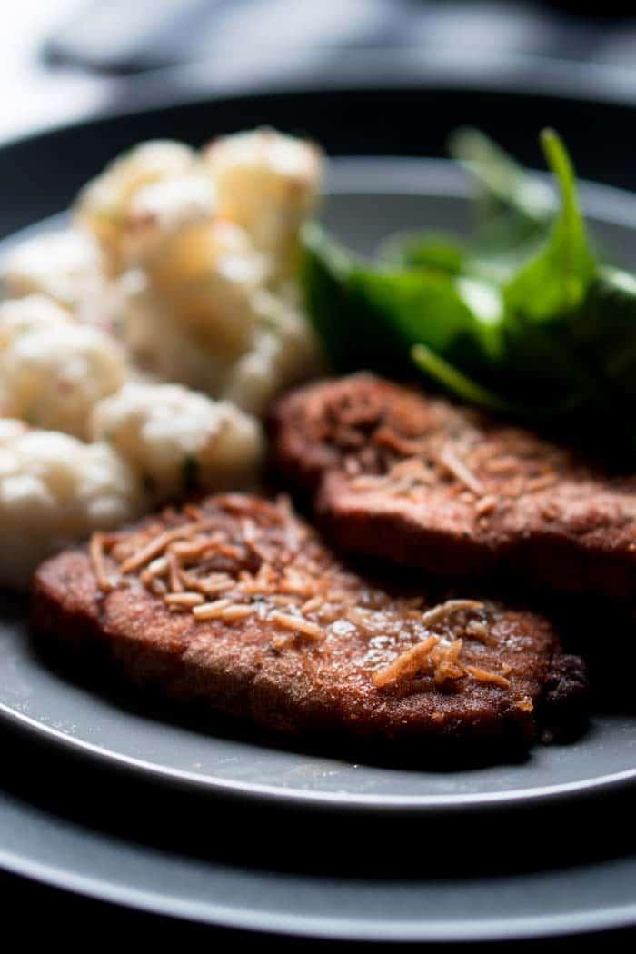 Keto Shake and Bake Pork Chops