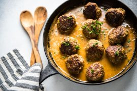 Keto Swedish Meatballs [Low Carb, Gluten Free]