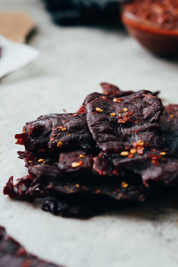 Keto Beef Jerky Recipe - Spicy Beef Jerky