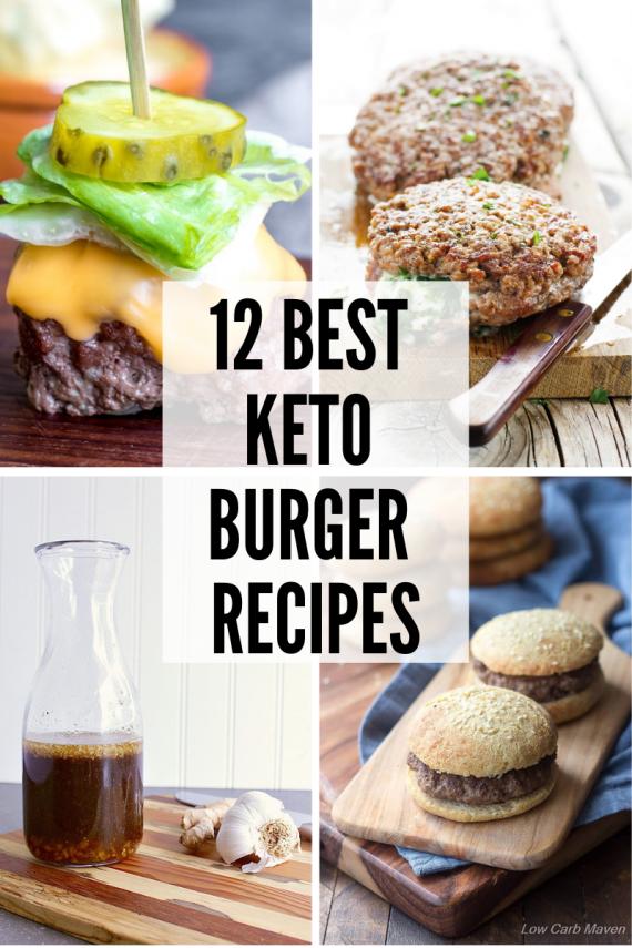 12 Best Keto Burger Recipes