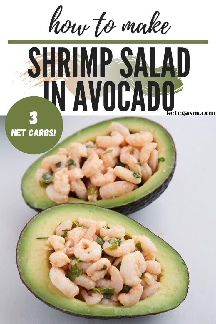 Avocado and Shrimp Boats - Low Carb, Keto, & Paleo!