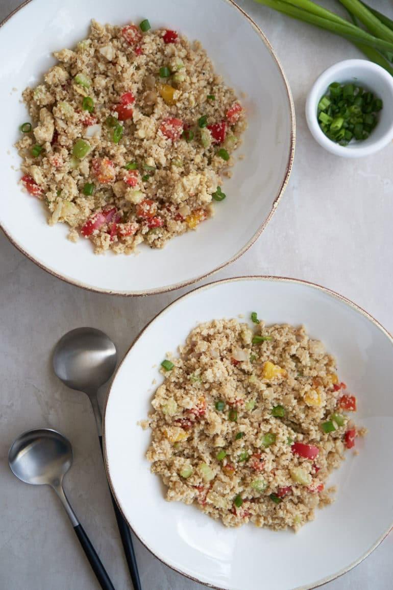 Carbs in cauliflower rice