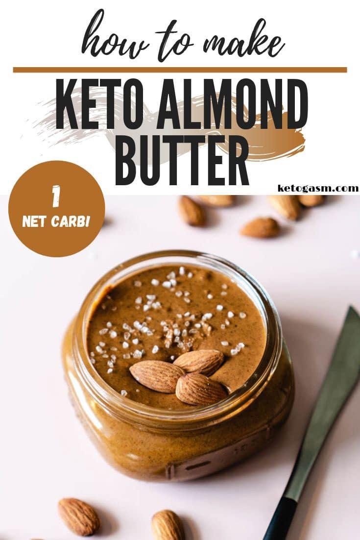 Keto Nut Butter Recipe