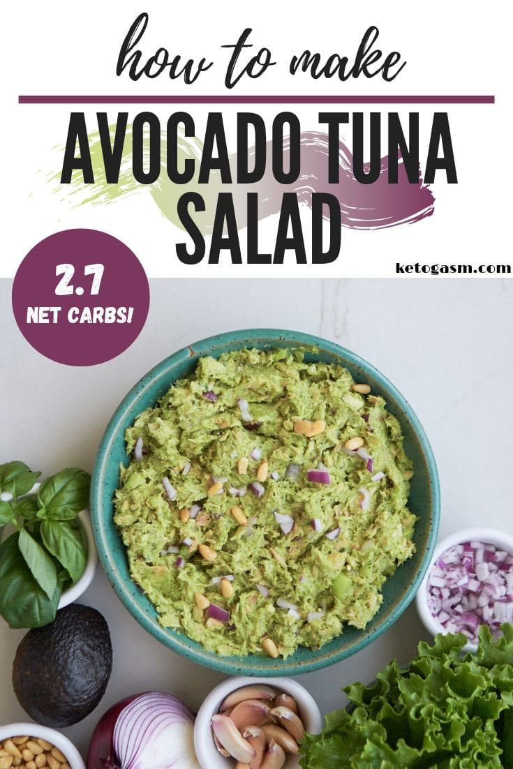 How to make avocado tuna salad