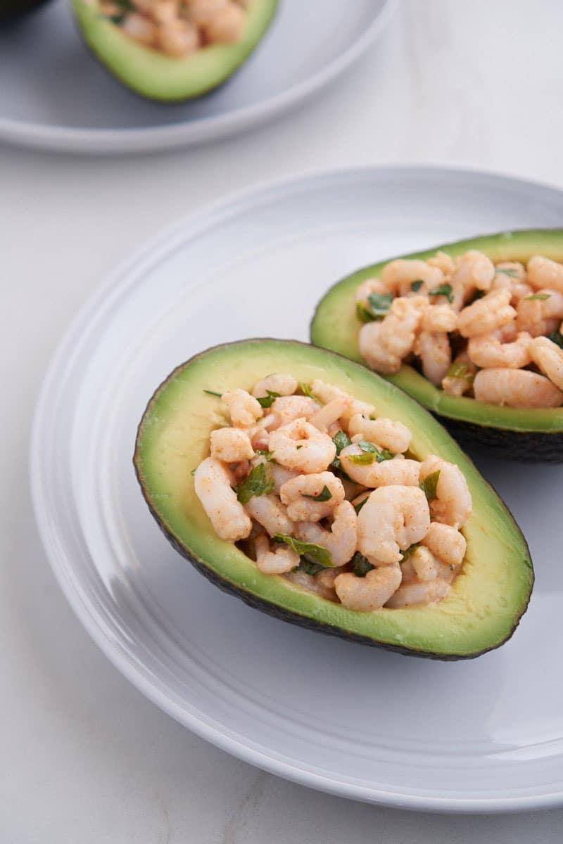 Shrimp Avocado Boats